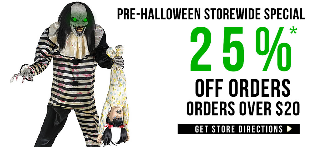 explore our newest halloween decorations for 2018 get halloween club costume superstore directions now