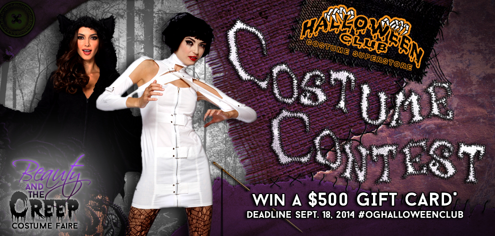 Beauty & The Creep Costume Contest
