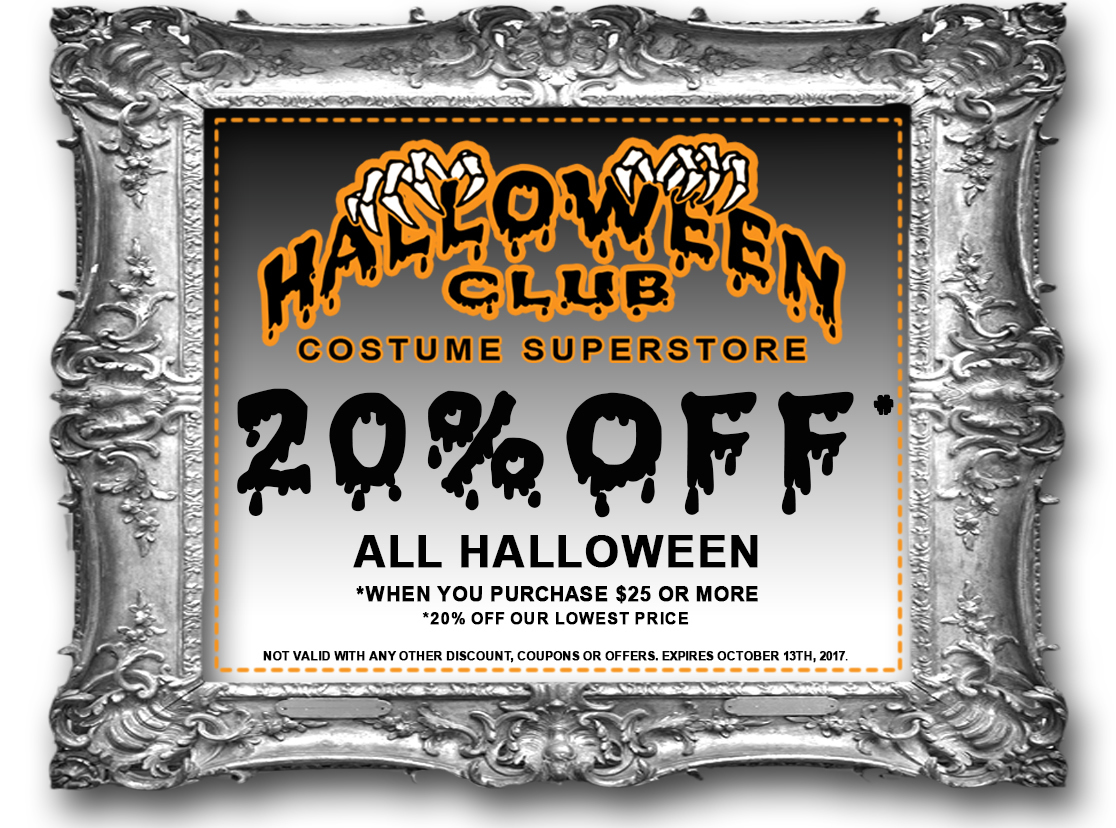 additionally weve just launched our brand new 2017 halloween club catalog feel free to flip through it and find your dream costume and accessories