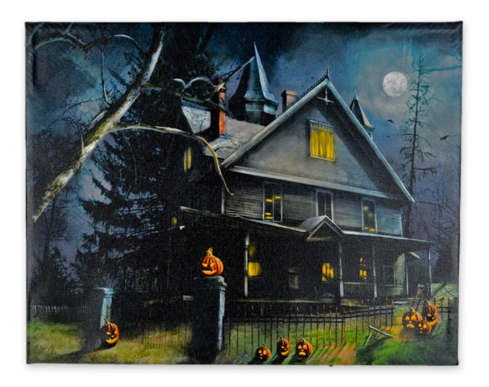 Haunted House U0026 Fence LED Picture 338199