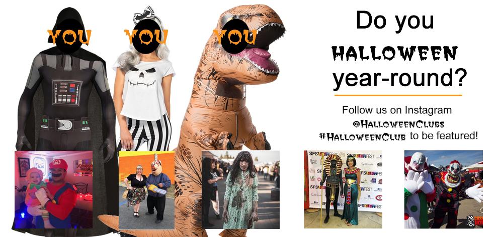 Halloween Club U2013 Halloween Costume Superstore U2013 Open Year ...