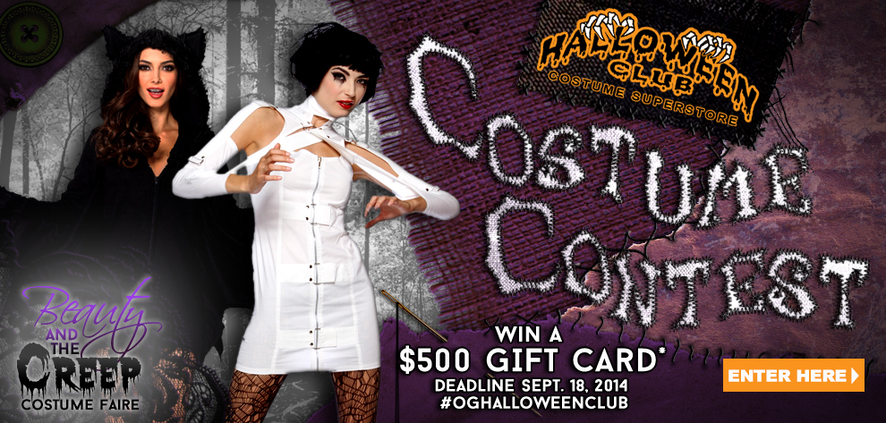 Now we are searching for the most original costumes to prize at our Beauty u0026 the Creep Costume Faire. Please read full rules HERE before entering.  sc 1 st  Halloween Club & Halloween Club u2013 Halloween Costume Superstore u2013 open year-round ...