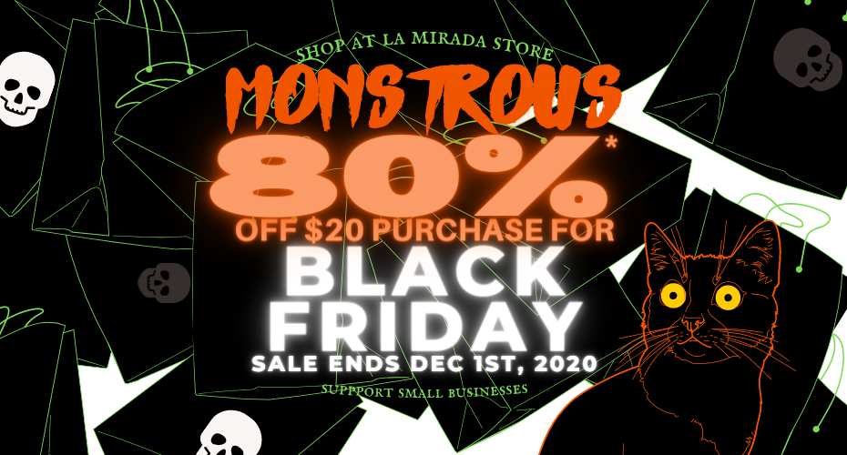 80% off Black Friday Sale at Halloween Club