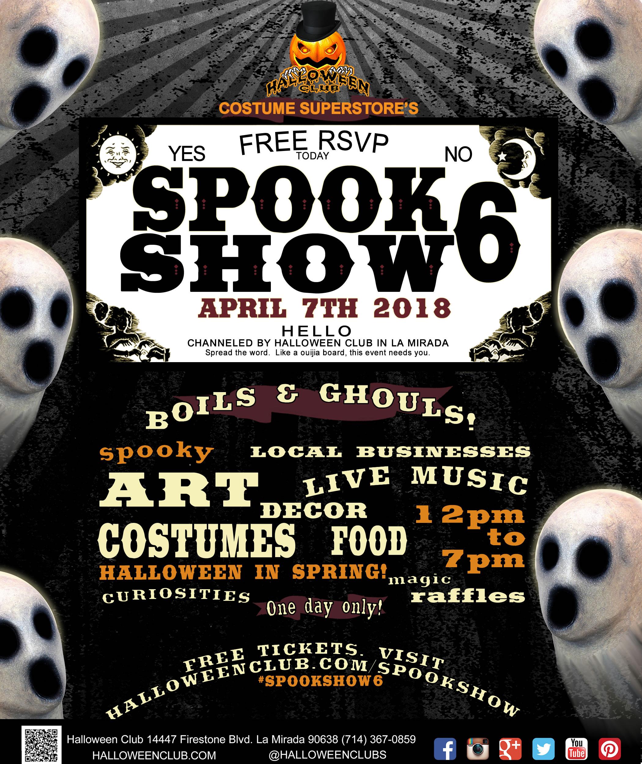 Spook Show: A Halloween Festival @ Halloween Club | La Mirada | California | United States