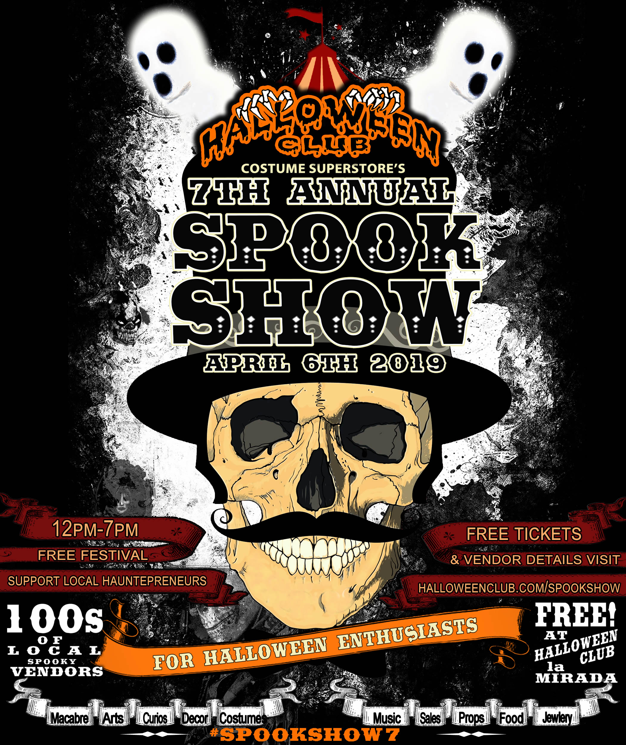 Spook Show 7 at Halloween Club