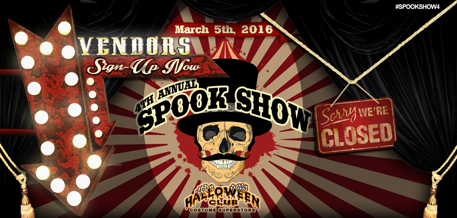 Halloween Club's 4th Annual Spook Show